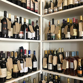 Large Selection Of Wine Available