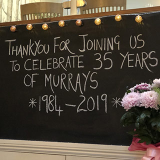 35 Years Of Murays Event